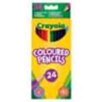 Crayola - 24 crayons de couleur