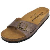 Pepe Jeans - Claquettes mules Oban chrome lady Gris 54923