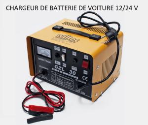 bigb chargeur de batterie pour auto moto voiture 12 24 v pas cher achat vente aide au. Black Bedroom Furniture Sets. Home Design Ideas