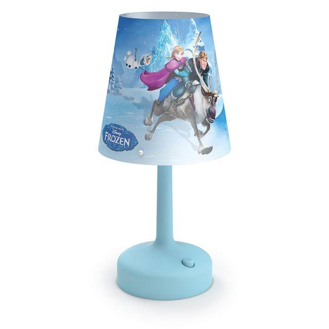 Philips la reine des neiges lampe poser portable - Reine des neiges lampe ...