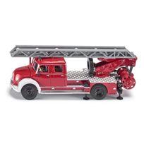 Siku - 4114 - VÉHICULE Miniature - ModÈLE À L'ÉCHELLE - Grande ÉCHELLE Pompiers Magirus - MÉTAL - Echelle 1/50