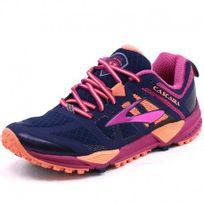Brooks - Chaussures Cascadia Bleu Trail Femme