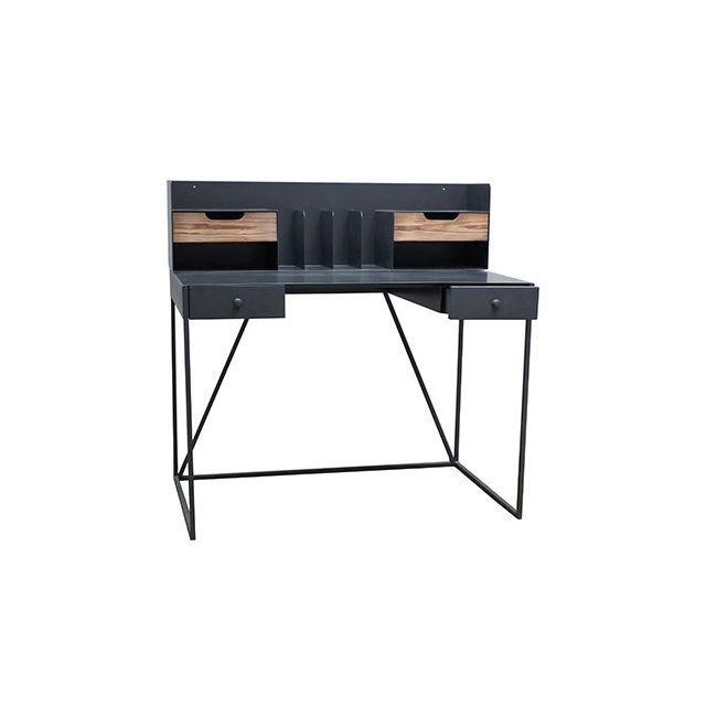 Classeur Bureau Metalaz 110x25xH30cm en bois et métal