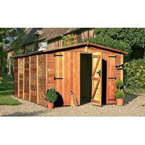 Chalet & Jardin - Chalet&JARDIN - Garage en bois traité 14.85 m2 19mm
