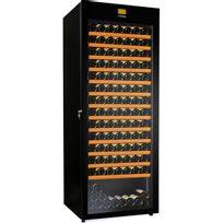 Avintage - Cave à vin multi-usages - Multi-Températures - 190 bouteilles - Noir Aci-avi437TC - Pose libre