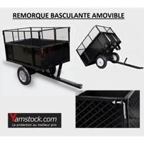 remorque pour tracteur tondeuse achat remorque pour tracteur tondeuse pas cher rue du commerce. Black Bedroom Furniture Sets. Home Design Ideas