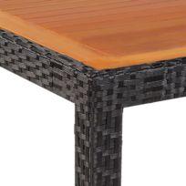 Table jardin 90x90 - catalogue 2019 - [RueDuCommerce - Carrefour]
