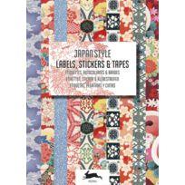 Pepin - Livre d'étiquettes et autocollants Style Japonais