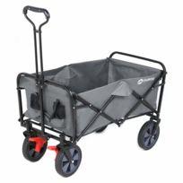 Chariot de jardin pliable avec freins   Charrette pliable   Charrette à  main pliant   Chariot remorque de jardin d\'extérieur   Chariot de  transport, ...