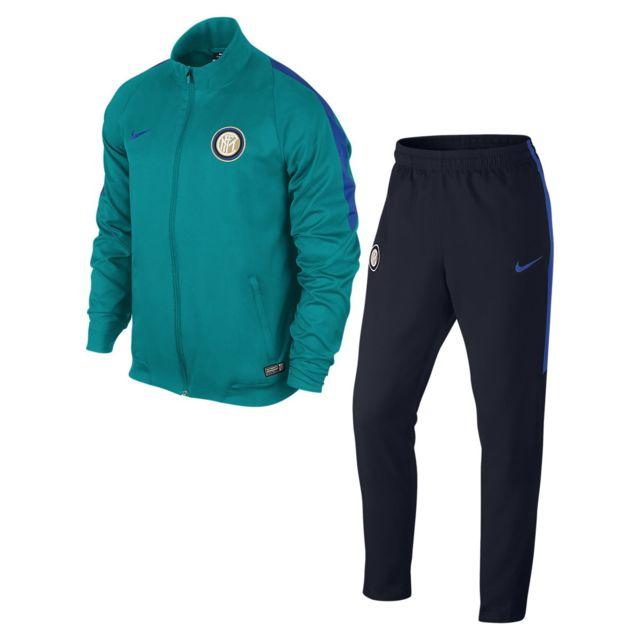 aa1f3cc032 Nike - Survêtement de football Inter Milan Revolution Sideline Woven -  687530-389 - pas cher Achat / Vente Clubs italiens - RueDuCommerce