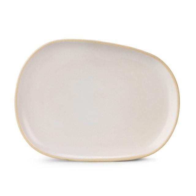 Alinéa - Aylan Assiette à dessert en faïence blanche - pas cher ...
