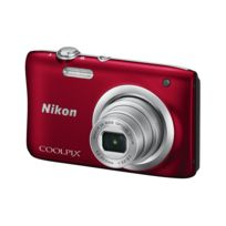 NIKON - appareil photo compact - coolpix a100 rouge