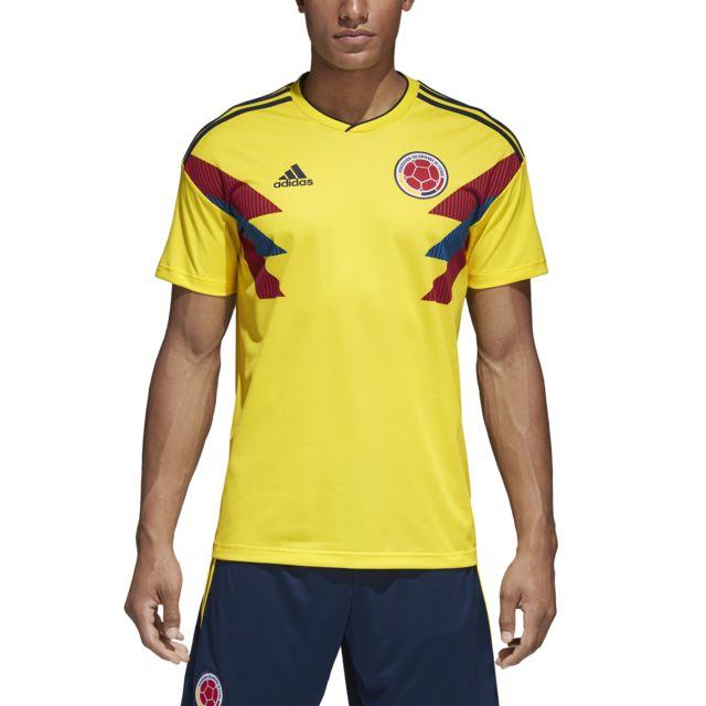 Adidas Maillot domicile Colombie 2018 jaune brillantbleu