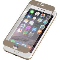 Zagg - Protection écran pour iPhone 6/6s or