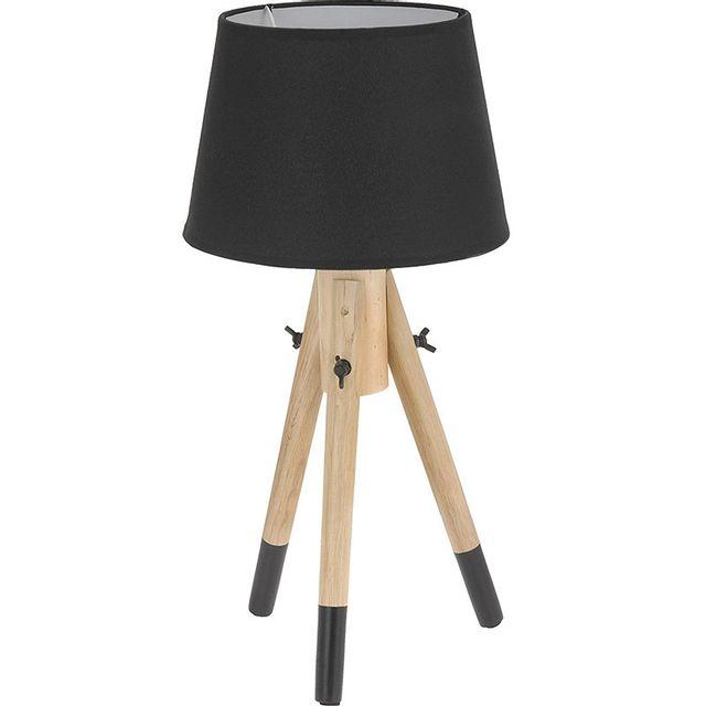 Touslescadeaux Lampe Design A Poser Trepied 49 Cm Lampe De