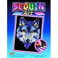 Kit Fix Swallow Ltd. - Sequin Art Wolf