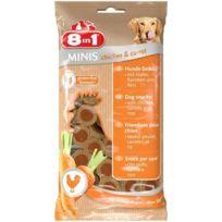 8in1 - Minis Chicken et Carrot 100gr pour chien