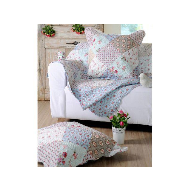 boutis bleu amazing dessus de lit bleu marine jetac de lit matelassac piquage lignes couvre lit. Black Bedroom Furniture Sets. Home Design Ideas