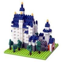 Nanoblock - Architecture - Cinderellas Castle NEUSCHWANSTEIN Castle, JAPAN Import