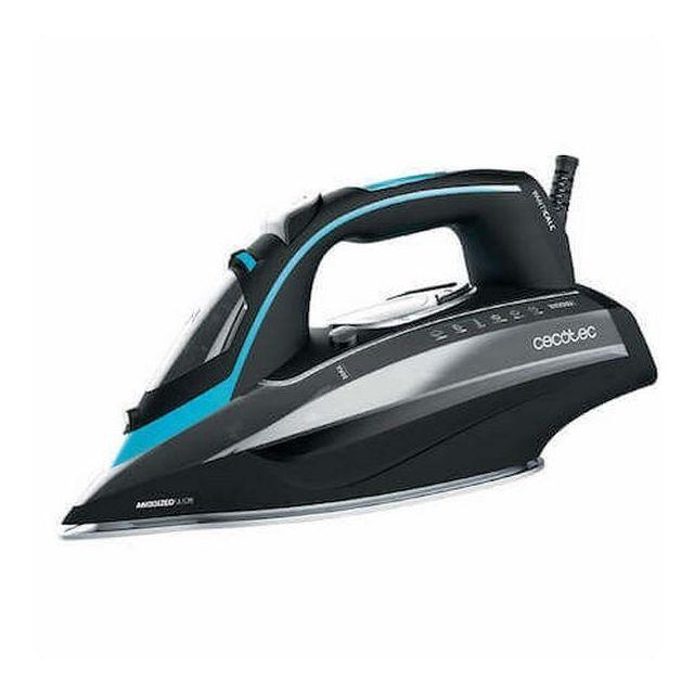 Totalcadeau Fer à vapeur 3D à système antigoutte 400 ml 3100W Noir Bleu - Fer à repasser