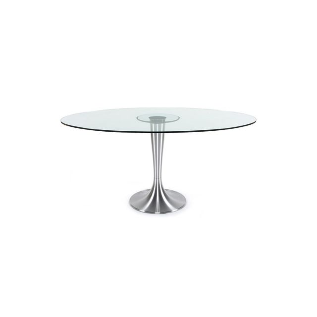 Table à diner design 106x160x76cm Ovali