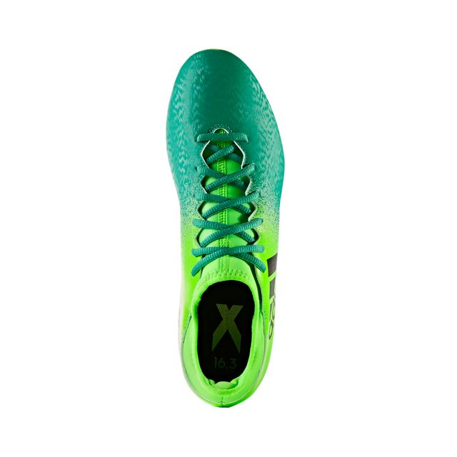 Adidas performance - Chaussures football Adidas X 16.3 Fg Vert