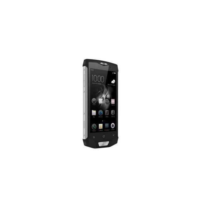 Auto-hightech Smartphone étanche, Octa-core, 5 pouces, Android 7.0, 4G - Argent