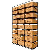 Modulorack - La seule solution pour stocker 24 caisses de vins et 288 bouteilles - Aci-mod501V