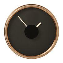 Karedesign - Horloge murale Screen cuivre 31cm Kare Design