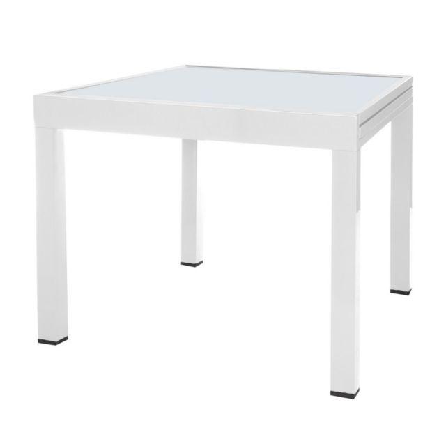 Ma Maison Mes Tendances - Table de jardin extensible 80/160 en ...