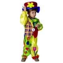b22de74ea02d5 Sans - Costume Clown Garcon Small 3 4 ans - Déguisement Cirque Enfant - 228