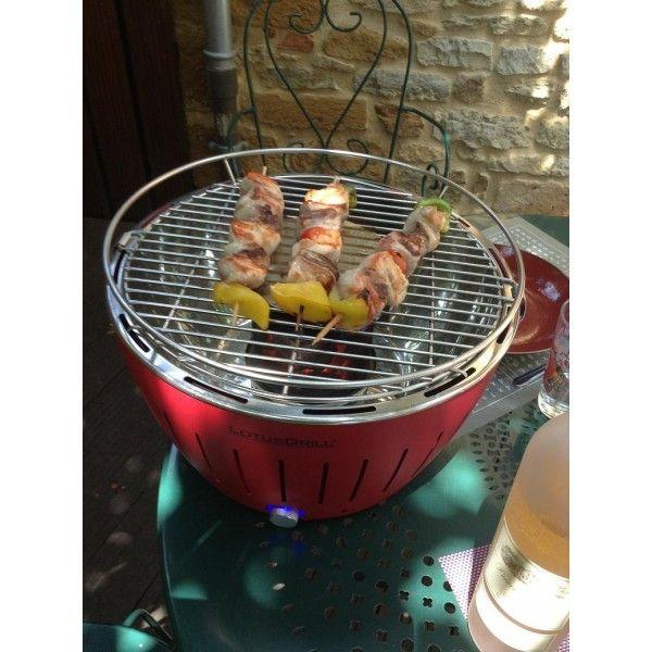 Lotusgrill - Barbecue de table Grill au Charbon Modèle Xl 43.5 Cm Anthracite
