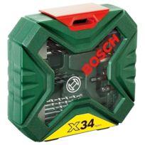 Bosch - Coffret d'accessoires X-line 34 pièces