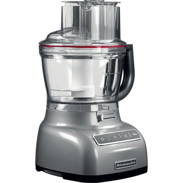 Kitchenaid robot ménager multifonction de 3,1L 300W gris argent