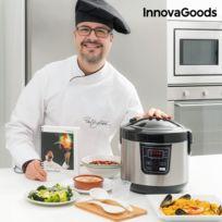 - Robot cuiseur avec accessoires et livre de cuisine - riz, bouillir, frire, yaourt, génoise, soupe, vapeur et maintenir chaud