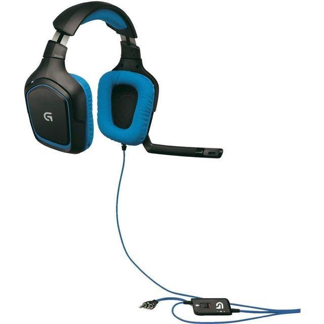 LOGITECH - G430 – Noir et bleu