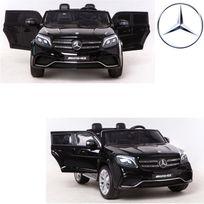 Mercedes - Grand 4X4 Voiture électrique enfant 24 volts vraie 2 places 24V noir