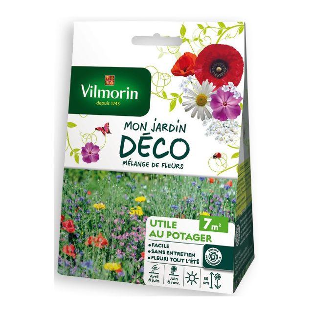 Vilmorin Sachet graines Mélange de fleurs Utile au potager 7 m2