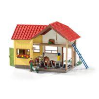 SCHLEICH - Grange avec animaux et accessoires - 42334