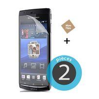 Nzup - 2 Films plastique pour Sony Ericsson Xperia Arc S