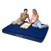 Intex - Matelas gonflable 2 personnes Downy Classic