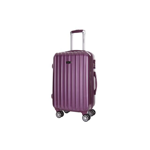 torrente valises rigides valise asteria violet m 1 2 semaines pas cher achat vente. Black Bedroom Furniture Sets. Home Design Ideas