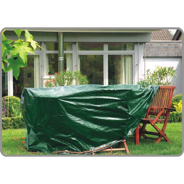 Titanium - Housse Table Ovale Verte - pas cher Achat / Vente Housse ...