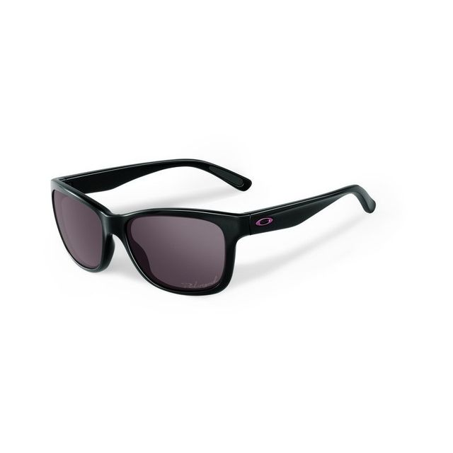 Oakley - Lunettes de soleil Oakley Forehand - Polished Black   Grey  Polarized 78c5955e534b
