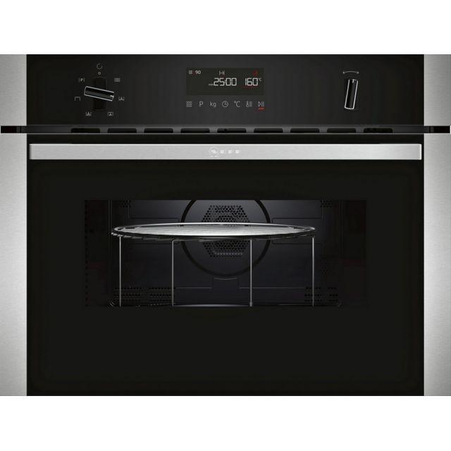 NEFF micro-ondes gril encastrable 44l 900w inox - c1amg83n0