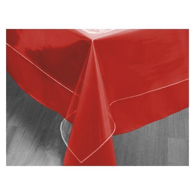 soleil d 39 ocre toile cir e de protection rectangulaire transparente 140 x 200 cm linge. Black Bedroom Furniture Sets. Home Design Ideas