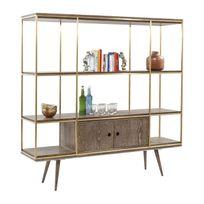 etagere acier galvanise achat etagere acier galvanise pas cher rue du commerce. Black Bedroom Furniture Sets. Home Design Ideas