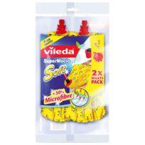 Vileda - Recharge pour le balai à franges SuperMocio Soft
