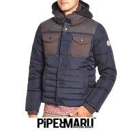 Piper Maru - Parka plume Diuk Bleu Encre