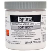 Liquitex - Professional Soft Body Pot De Peinture Acrylique Fluide 237 Ml Blanc De Zinc